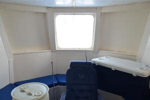 70' Drift Fishing Vessel 90 Person Commercial 1986 70DriftFishingVesselForwardCabinSeating