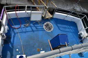 70' Drift Fishing Vessel 90 Person Commercial 1986 70' Drift Fishing Vessel Aft Deck