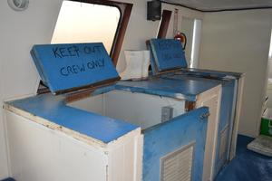 70' Drift Fishing Vessel 90 Person Commercial 1986 70' Drift Fishing Vessel Below Deck Access