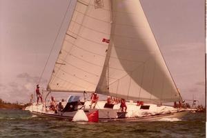 45' Morgan Starrett & Jenks Aft Cockpit 1977 Under Sail