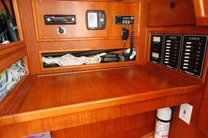 45' Morgan Starrett & Jenks Aft Cockpit 1977 Nav Station