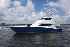 68' Hatteras 68 Convertible 2006 Profile
