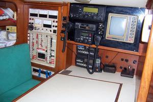 44' Hylas 44 Center Cockpit Sloop 1987 44 Hylas Nav Electronics/Breaker Panel