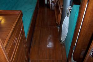 44' Hylas 44 Center Cockpit Sloop 1987 44 Hylas Teak Flooring