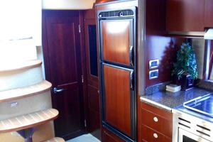 48' Sea Ray 48 Sundancer 2006 Galley looking aft to port