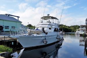 62' Custom Sportsfisherman 1984 Striker 62 Port View