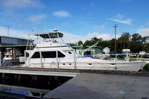62' Custom Sportsfisherman 1984 Striker 62 Starboard View