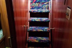 62' Custom Sportsfisherman 1984 Striker 62 Stair Case
