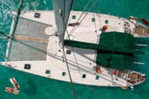 57' Lagoon 570 2001 Birds-eye view