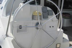 57' Lagoon 570 2001 Port side helm