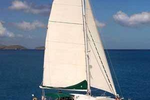 57' Lagoon 570 2001 Under sail
