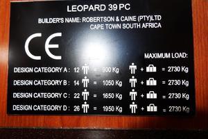 39' Leopard 39 PC 2012 CE
