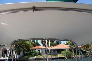 55' Chris White Juniper 2 Trimaran 1989 Hard Bimini