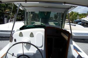 55' Chris White Juniper 2 Trimaran 1989 Cockpit 2