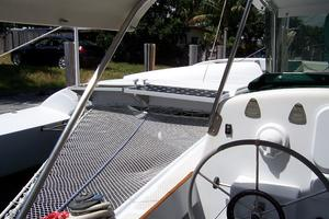 55' Chris White Juniper 2 Trimaran 1989 Trampoline