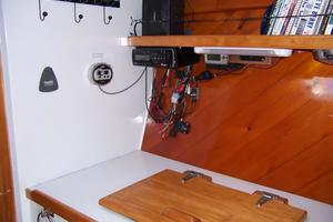 55' Chris White Juniper 2 Trimaran 1989 Galley Refer