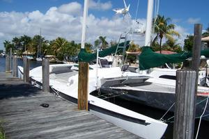 55' Chris White Juniper 2 Trimaran 1989 At the Dock 2