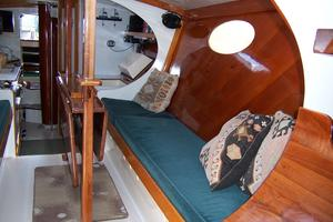 55' Chris White Juniper 2 Trimaran 1989 Salon to Aft 2