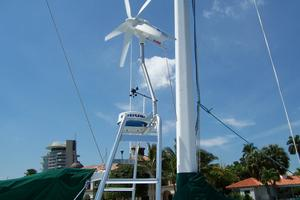55' Chris White Juniper 2 Trimaran 1989 Wind Generator