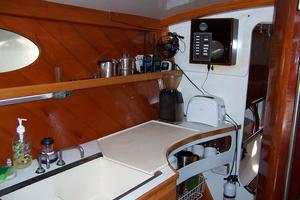 55' Chris White Juniper 2 Trimaran 1989 Galley 4