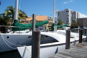 55' Chris White Juniper 2 Trimaran 1989 At the Dock