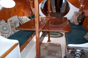 55' Chris White Juniper 2 Trimaran 1989 Dinette Table Open