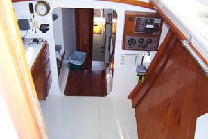 55' Chris White Juniper 2 Trimaran 1989 Nav Area