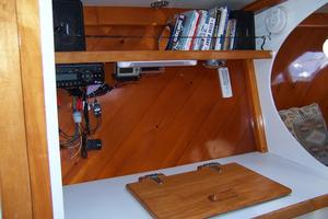 55' Chris White Juniper 2 Trimaran 1989 Galley Portside