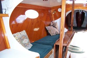 55' Chris White Juniper 2 Trimaran 1989 Salon to Port