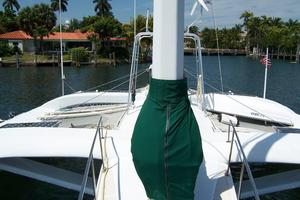 55' Chris White Juniper 2 Trimaran 1989 Fwd Deck Aft