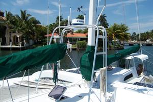 55' Chris White Juniper 2 Trimaran 1989 Custom Radar Arch