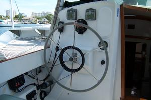 55' Chris White Juniper 2 Trimaran 1989 Helm