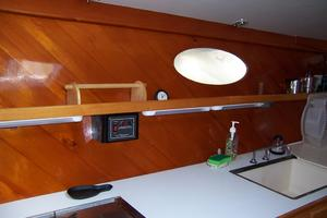 55' Chris White Juniper 2 Trimaran 1989 Galley