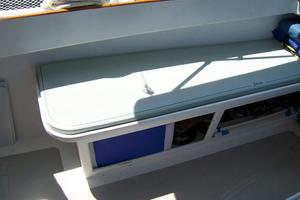 55' Chris White Juniper 2 Trimaran 1989 Cockpit Seating