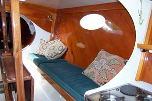 55' Chris White Juniper 2 Trimaran 1989 Salon to Stbd