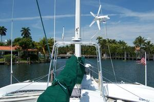 55' Chris White Juniper 2 Trimaran 1989 Custom Arch w/ Wind Generator