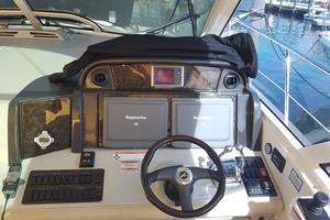 50' Sea Ray 500 Sundancer 2010 Helm Dashboard