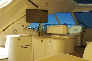50' Sea Ray 500 Sundancer 2010 Cockpit TV