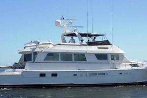 74' Hatteras Motor Yacht with Cockpit 1990 Hatteras 74' Yacht-Fish - 1990
