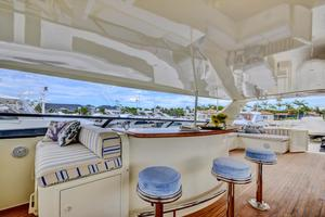 118' Broward Raised Pilothouse MY 2000 Flybridge Bar