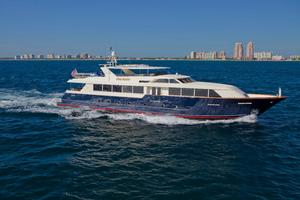 118' Broward Raised Pilothouse MY 2000 TRUE NORTH