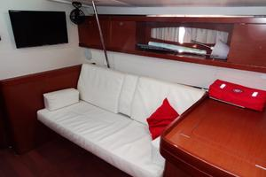 54' Beneteau Oceanis 54 2011 Saloon Side