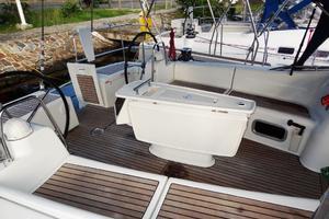 54' Beneteau Oceanis 54 2011 Cockpit 2