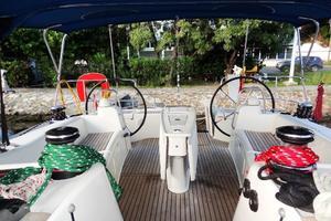 54' Beneteau Oceanis 54 2011 Cockpit 5