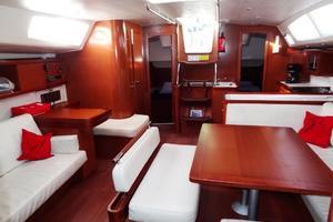 54' Beneteau Oceanis 54 2011 Saloon Aft
