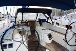 54' Beneteau Oceanis 54 2011 Cockpit 3