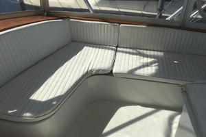 61' Buddy Davis 61 Sportfish 1989 Fwd Flybridge seating strbdside