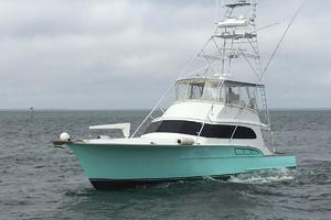 61' Buddy Davis 61 Sportfish 1989 Port idle in open water