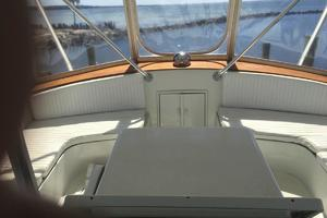 61' Buddy Davis 61 Sportfish 1989 Flybridge seating forward