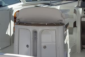 40' Cruisers Yachts 390 Sports Coupe 2008 Cockpit dinette with storage